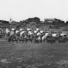 New 5x7 Civil War Photo: Wagon Train of Union Military Telegraph Corps