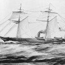 New 5x7 Civil War Photo: CSS ALABAMA, Confederate Sloop-of-War Ship