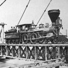 "New 5x7 Civil War Photo: U.S. Military Railroad Train Engine ""W.H. Whiton"""