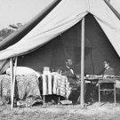 New 5x7 Civil War Photo: Lincoln & McClellan at Antietam - Sharpsburg