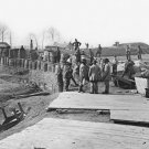 New 5x7 Civil War Photo: Soldiers in Confederate Fort at Manassas, Virginia