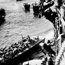 New 5x7 World War II Photo: U.S. Troops Prepare for Invasion of Bougainville