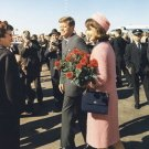 New 5x7 Photo: Kennedys Arrive at Dallas, Nov. 22, 1963