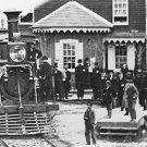 New 5x7 Civil War Photo: Train Depot at Hanover Junction, Pennsylvania