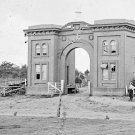 New 5x7 Civil War Photo: Evergreen Gate on Cemetery Hill, Gettysburg