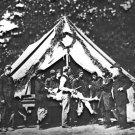 New 5x7 Civil War Photo: Amputation in Tent at Battle of Gettysburg
