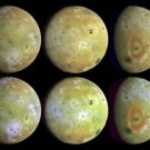 New 5x7 Space Photo: Full Views of Io, Jupiter's Volcanic Moon