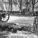 New 5x7 Civil War Photo: Guns & Ammunition at Arsenal Yard in Charleston