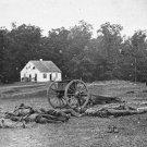 New 5x7 Civil War Photo: Dunker Church at Antietam - Sharpsburg Battle
