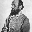 "New 8x10 Civil War Photo: Thomas ""Stonewall"" Jackson with Famous Quote"