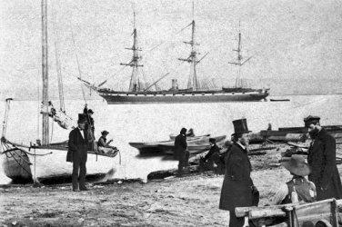 New 5x7 Civil War Photo: U.S. Frigate PENSACOLA off Alexandria, Virginia