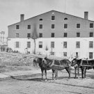 New 5x7 Civil War Photo: Side and Rear View of Libby Prison in Richmond