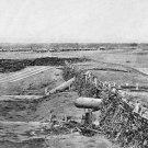 New 5x7 Civil War Photo: Confederate Quaker Guns at Centreville, Virginia