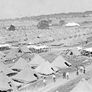 New 5x7 Civil War Photo: Veteran's Camp at 50th Gettysburg Anniversary Reunion