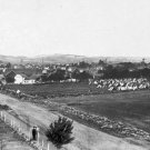 New 5x7 Civil War Photo: Army Camp on Cemetery Ridge, Gettysburg Battlefield