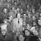 New 5x7 Photo: Movie Star Bob Hope Entertaining X Corps in Korea, 1950