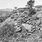 New 5x7 Civil War Photo: Little Round Top & Cemetery Ridge after Gettysburg