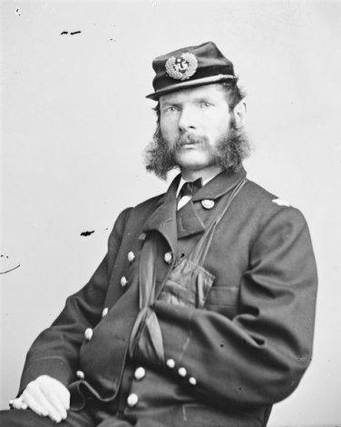"New 5x7 Civil War Photo: Federal Colonel Samuel Spriggs ""Red"" Carroll"