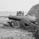 New 5x7 Civil War Photo: Guns at Fort Johnson, Morris Island South Carolina