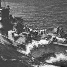 New 5x7 World War II  Photo: Starboard Bow View of U.S. Ship LCI 77 in Astoria