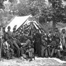 New 5x7 Civil War Photo: 8th New York State Militia in Camp, 1864