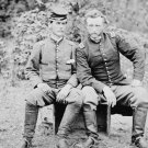 New 5x7 Civil War Photo: Union General George Custer with Captured Rebel Friend