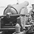 New 5x7 Civil War Photo: 100 Pounder Gun on Confederate Gunboat TEASER