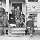New 5x7 Civil War Photo: General Judson Kilpatrick Headquarters at Stevensburg