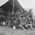 New 5x7 Civil War Photo: 9th Corps Quartermaster Department at Petersburg