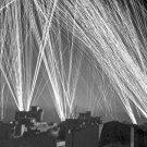 New 5x7 World War II Photo: Anti-Aircraft Fire During an Air Raid on Algiers