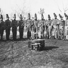 New 5x7 Civil War Photo: Band of the 9th Reserve Corps in Washington
