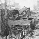 New 5x7 Civil War Photo: Ruins of Railroad Depot after Sherman's Raid, Atlanta