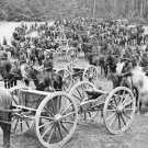New 5x7 Civil War Photo: Gibson's Horse Artillery at Fair Oaks, Virginia