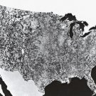 New 5x7 Space Photo: First Image of the United States by NASA Satellite