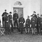 New 5x7 Civil War Photo: Union - Federal General George Meade & Staff