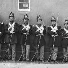 New 5x7 Civil War Photo: Six Marines with Fixed Bayonets at the Navy Yard