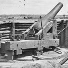 New 5x7 Civil War Photo: Heavy Gun on inner Confederate Line, Petersburg