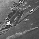 New 5x7 World War II Photo: Navy Fighters During Japanese Attack off Midway