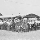 New 5x7 Civil War Photo: Chow Line at the 50th Gettysburg Veterans Reunion, 1913