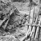 New 5x7 Civil War Photo: Dead Among Chevaux-de-Frise in Trenches of Petersburg