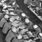 New 5x7 World War II Photo: Students at Submarine Training School at New London