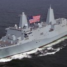 New 5x7 Photo: U.S. Navy USS San Antonio (LPD-17) Amphibious Transport Dock