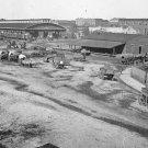 New 5x7 Civil War Photo: Railroad Depot and Masonic Hall in Atlanta, Georgia