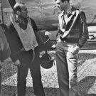 New 5x7 World War II Photo: Major James 'Jimmy' Stewart with B-24 Crew Members