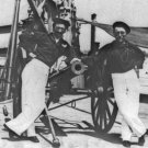 New 5x7 Civil War Photo: Sailors and Guns on Deck of Gunboat HUNCHBACK
