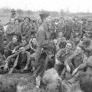 New 5x7 World War II Photo: Mickey Rooney Entertains Infantrymen in Germany