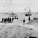 New 5x7 Civil War Photo: Federal Navy Squadron at Charleston, South Carolina