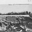 New 5x7 Civil War Photo: Blakely Gun Destroyed by Confederates in Charleston