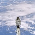 New 5x7 NASA Photo: International Space Station (ISS) above Earth