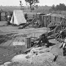 New 5x7 Civil War Photo: Confederate Fort in Atlanta, Georgia